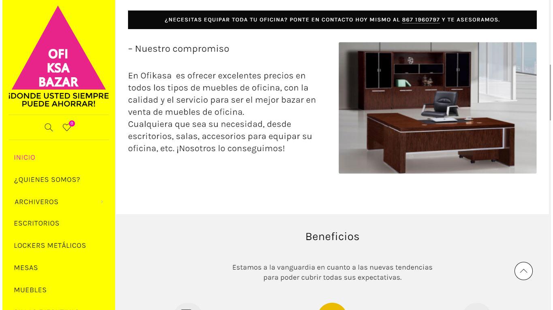 Ofikasa Bazar de muebles de oficina Nuevo Laredo