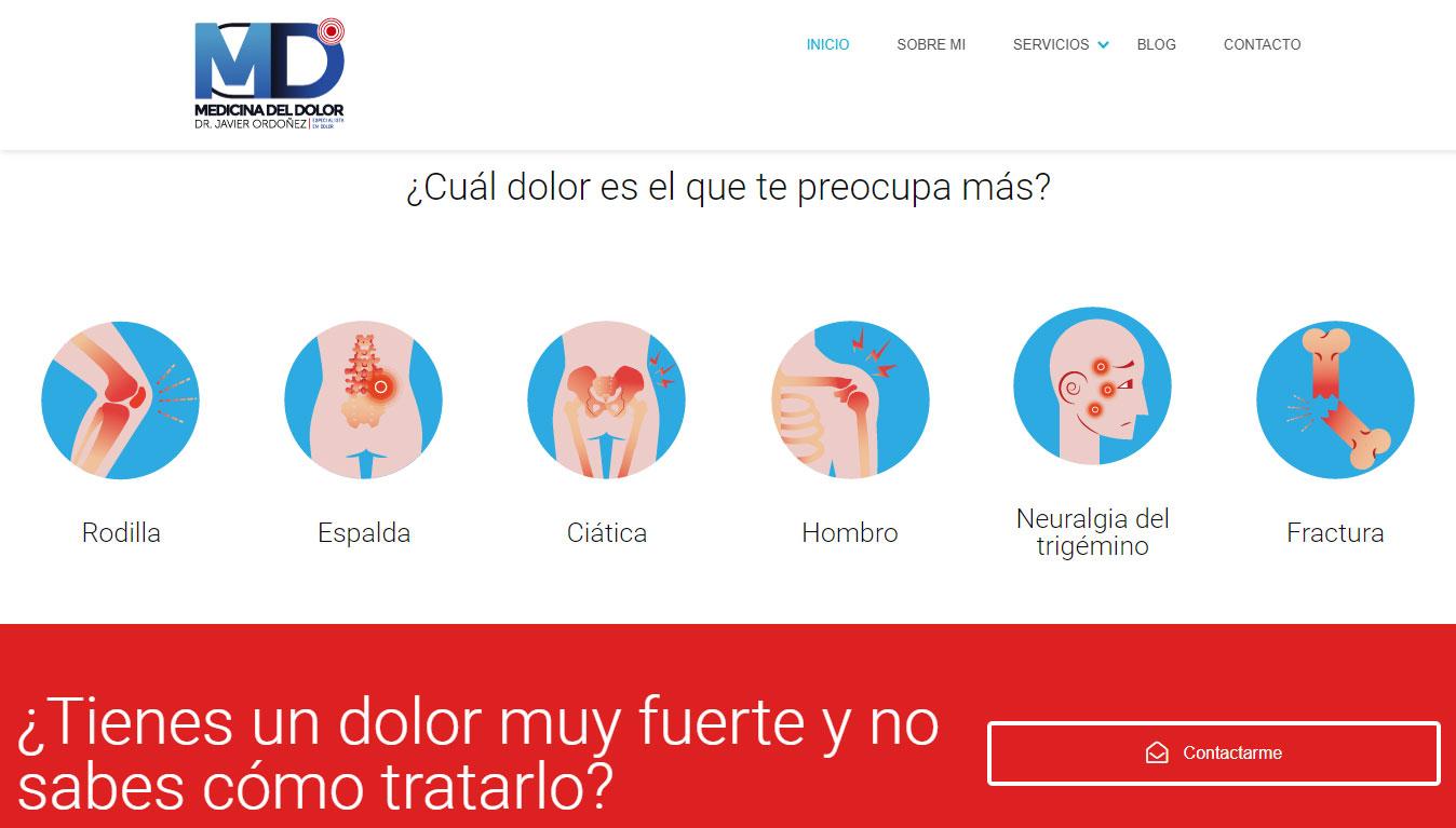 Diseño Web para Medicos Especialistas en Monterrey